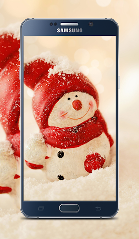 android Christmas New year Wallpapers Screenshot 4