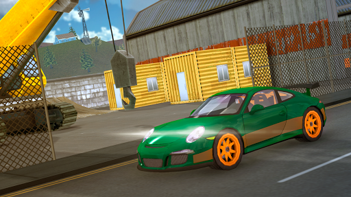 Racing Car Driving Simulator - screenshot