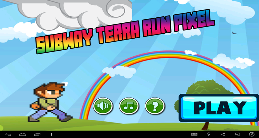 android Subway Terrarias Run Pixel Screenshot 1