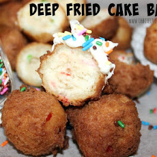 ~Deep Fried Cake Batter!