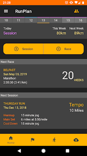 RunPlan Screenshot