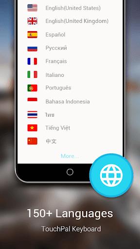 TouchPal Emoji Keyboard - screenshot