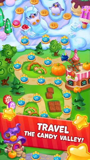 Candy Valley - Match 3 Puzzle screenshot 1
