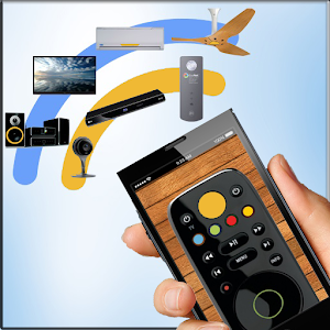 Remote Control All Tv Icon