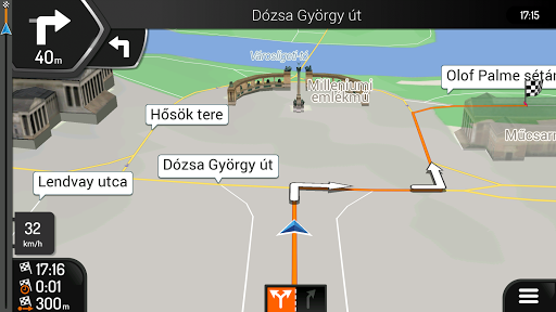 iGO Navigation SzülinApp screenshot 3