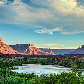 The Colorado by Brad Crezee - Landscapes Deserts