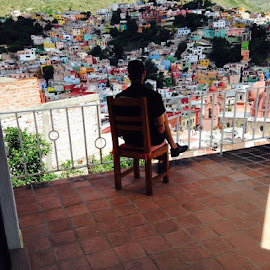 Thinking over Guanajuato by Sumandhi Fox - Novices Only Landscapes