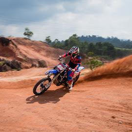 Control! by Vijay Tripathi - Sports & Fitness Motorsports ( motocross, motorbike, motor, dirtbike, motorcycle, motorsport )