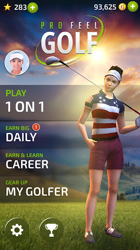 Pro Feel Golf - screenshot