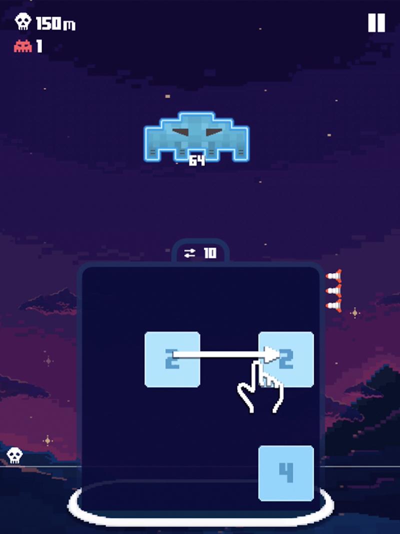 Invaders 2048 Screenshot 10