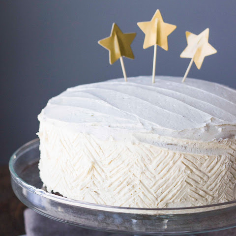 Vegan Chai Spice Cake with Vanilla Bean Buttercream