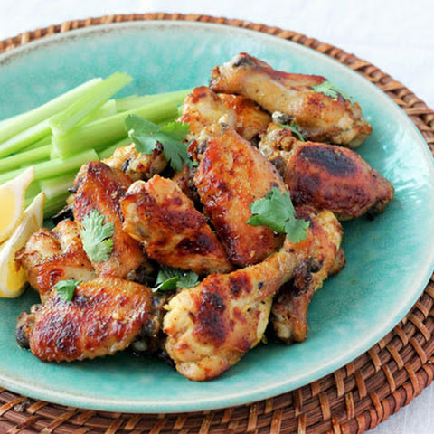 Indian Spiced Chicken Wings