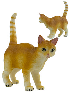 "Игрушка-фигурка серии ""Город Игр"", котенок S3, рыжий"
