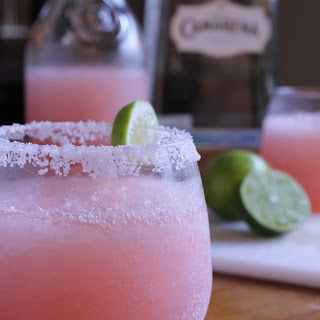 Pink Grapefruit Margaritas