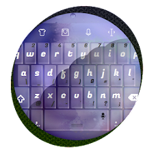Purple shimmer TouchPal Skin