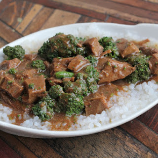 Take-Out Crockpot Beef & Broccoli
