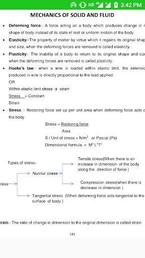 Physics notes for class 11 screenshot 4