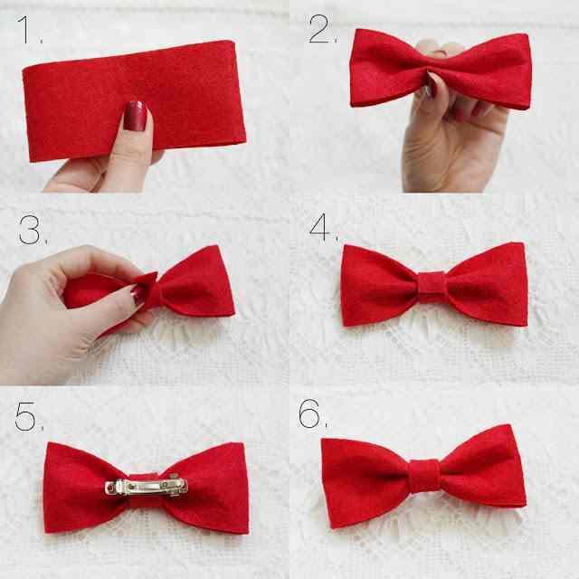 Как сделать банты для волос из ленты своими руками