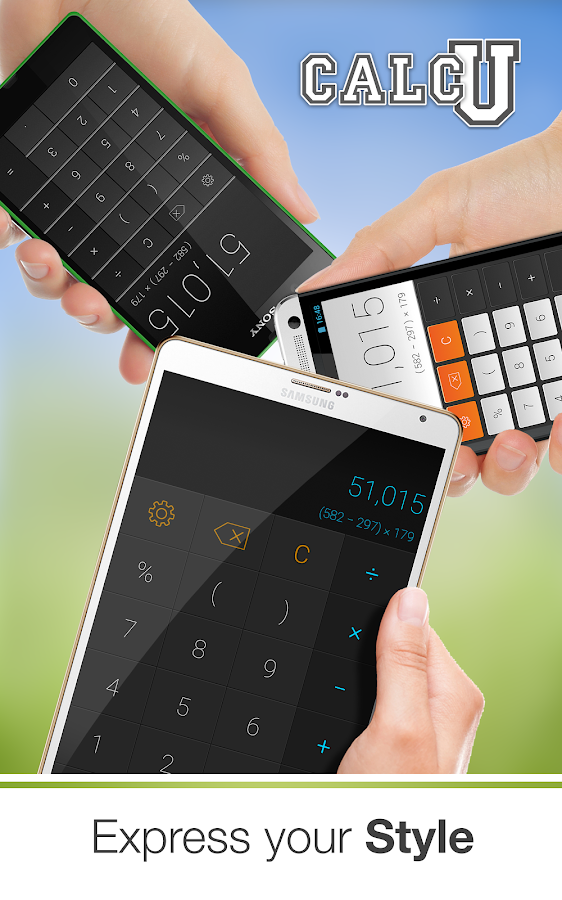 CALCU™ Stylish Calculator Free Screenshot 10