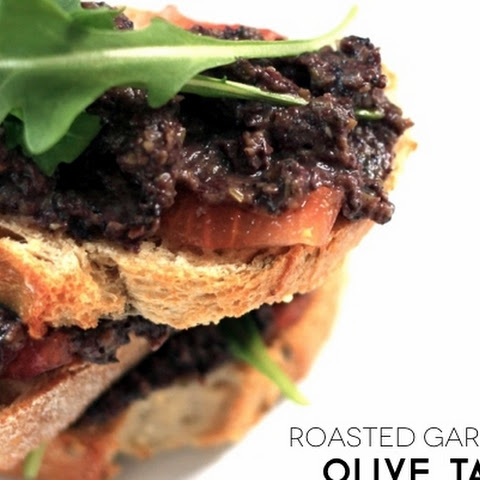 Roasted Garlic and Shallot Olive Tapenade