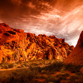Valley of Fire State Park by Stanley P. - Landscapes Caves & Formations