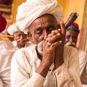 Liberation by Monish Kumar - People Portraits of Men