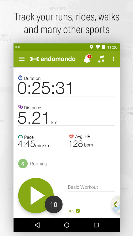 Endomondo - Running & Walking Screenshot 0