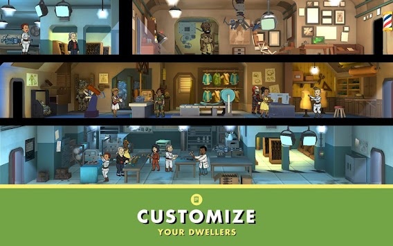 Fallout Shelter APK screenshot thumbnail 11