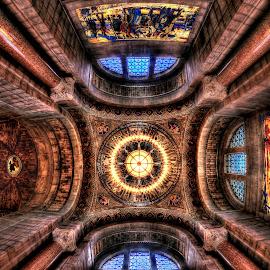 Rotunda by DE Grabenstein - Buildings & Architecture Other Interior ( ornate architecture, rotunda, dome, architecture )