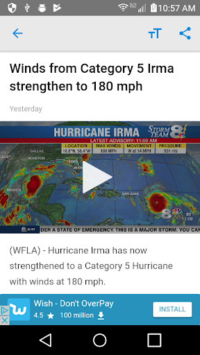 WFLA News Channel 8 - Tampa FL For PC