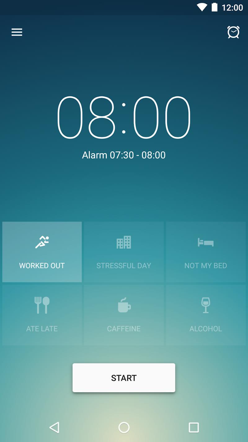 Runtastic Sleep Better: Sleep Cycle & Smart Alarm Screenshot 0
