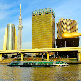 sumida river by Iman S - Buildings & Architecture Bridges & Suspended Structures
