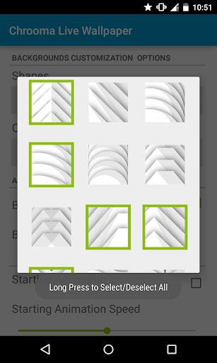 Chrooma Live Wallpaper - screenshot
