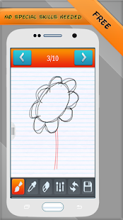 Draw Teacher - step by step - screenshot