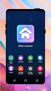 Glitter Launcher——Live wallpaper & Control center for pc