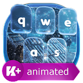 App Frozen Night Animated Keyboard 1.0.2 APK for iPhone