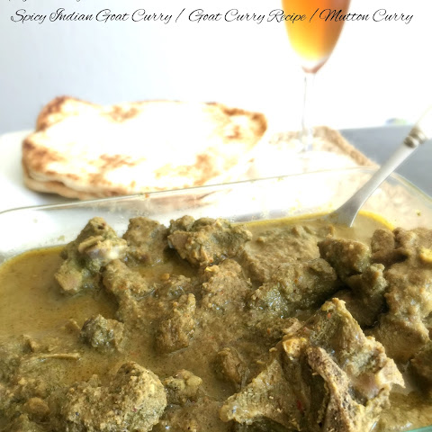 Spicy Indian Goat Curry / Goat Curry Recipe /Mutton Curry