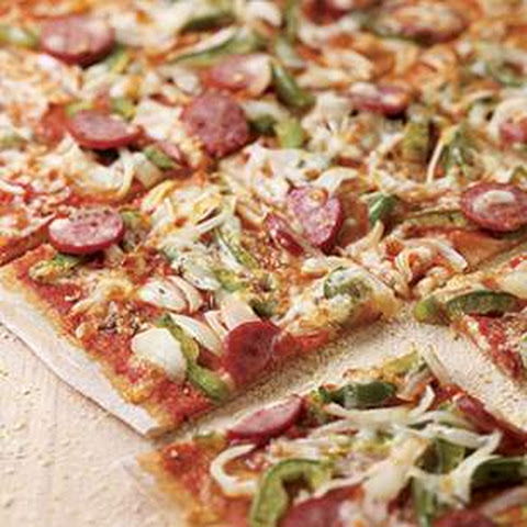 Smoked Sausage Pizza
