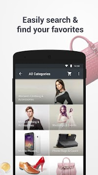 AliExpress Shopping App APK screenshot thumbnail 2