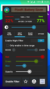 Pixoff: Battery Saver PRO- screenshot thumbnail