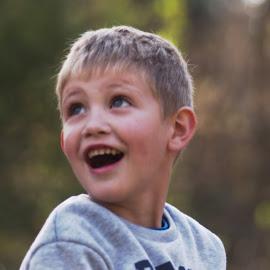Surprised Boy by Stefan Smit - Babies & Children Children Candids ( child, candid, surprised, boy, kid )