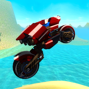 Flying Motorcycle Simulator For PC
