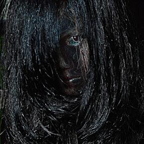 Menakutkan by Ryan Alamanda - People Portraits of Women