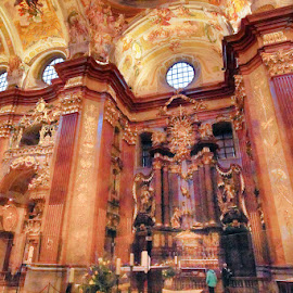 Abbey of Melk by Radu Eftimie - Buildings & Architecture Places of Worship ( interior, architecture, melk, austria )