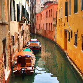 Venice canals by Liadh Crowley  - City,  Street & Park  Historic Districts ( history, venice, italy, canal )