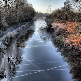 Canal,  by Doug Faraday-Reeves - Landscapes Waterscapes ( canal )