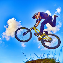 Catching My Bicycle by Marco Bertamé - Sports & Fitness Other Sports
