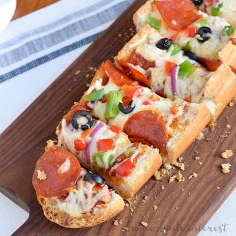 French Bread Pizza Sticks
