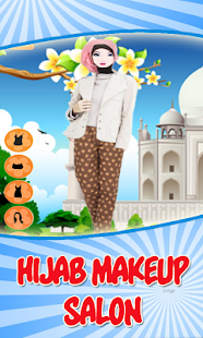 Hijab Makeup Salon Games - screenshot
