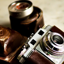 AGFA by Ica Stones - Artistic Objects Still Life ( old camera, agfa )